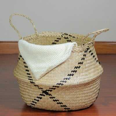 Belly Seagrass Basket - Wayfair
