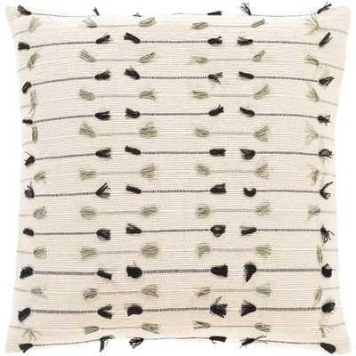"Quinn Pillow Cover, 20""x 20"" - Cove Goods"