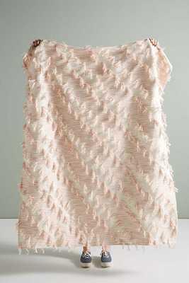 Textured Jorja Throw Blanket - Anthropologie