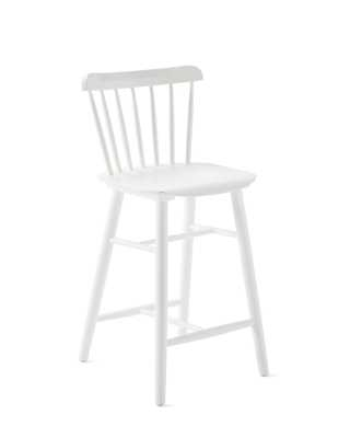 Tucker Counter Stool - White - Serena and Lily