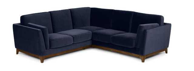 Ceni Maren Blue Corner Sectional - Article