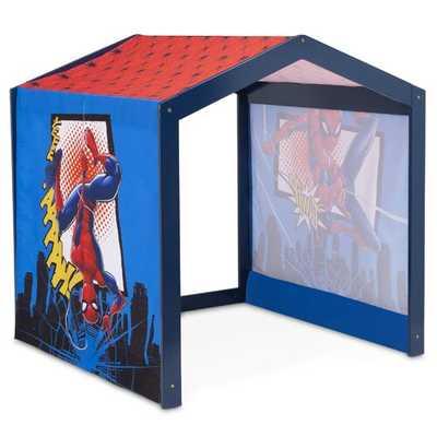 Marvel Spider-Man 3.77' x 3.77' Indoor Solid Wood Playhouse - Wayfair