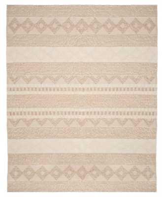 Billie Hand-Tufted Wool/Cotton Beige/Ivory Area Rug - Wayfair
