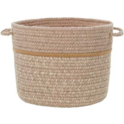 Banded Fabric Basket - Wayfair