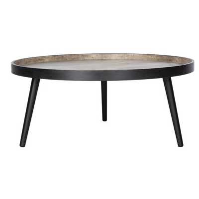 Valparaiso Round Tray Top Coffee Table - Wayfair