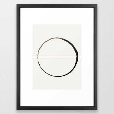 "C7 Framed Art - 15X21"" - Vector Black Frame - Society6"