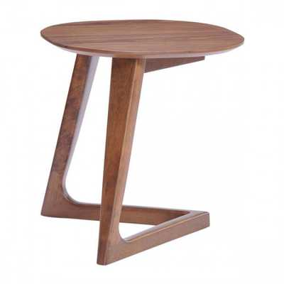 Park West Side Table Walnut - Zuri Studios