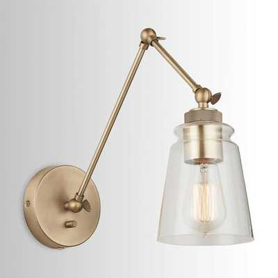 Brycen 1-Light Dimmable Swing Arm Lamp - Wayfair