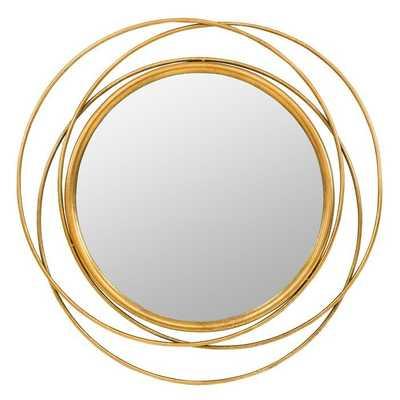 Fricke Round Wall Mirror - Wayfair
