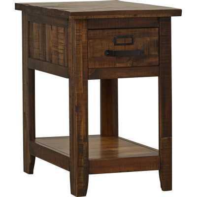 Tuntange End Table With Storage - Wayfair