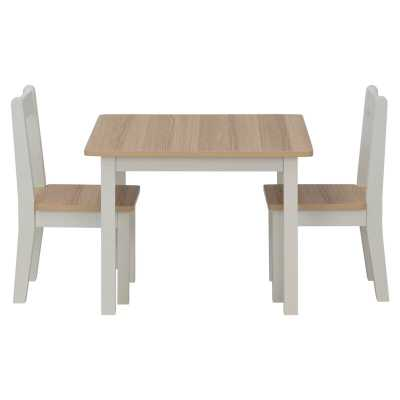 Aldusa Rectangle Kids Table Chair Set - Wayfair