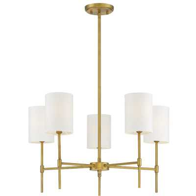 Dacosta 5 - Light Shaded Classic / Traditional Chandelier - natural brass - AllModern