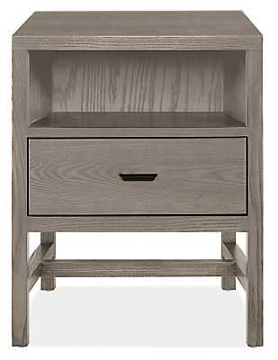 "Berkeley Nightstand - 20""W, Ash - Room & Board"