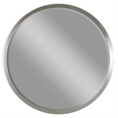 Serenza Round Mirror - Hudsonhill Foundry