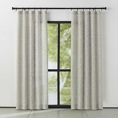 Vesta Textured Curtain Panel 50x108 - Crate and Barrel