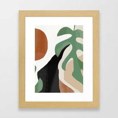 Abstract Art 37 Framed Art Print - Society6