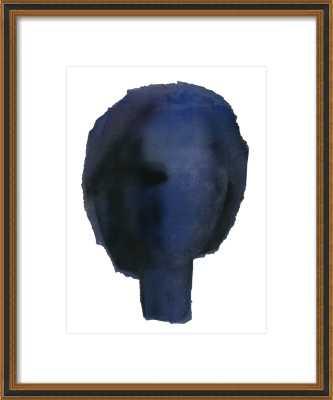 Blue Head - Artfully Walls