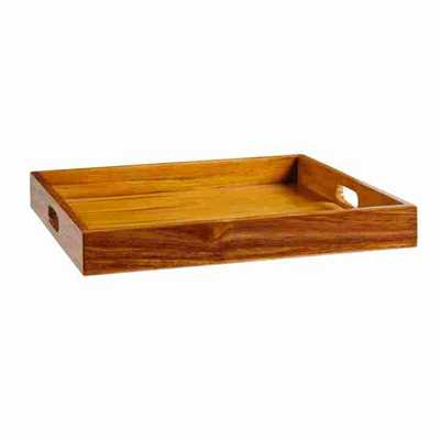 ADMIRAL TEAK TRAY - Curated Kravet
