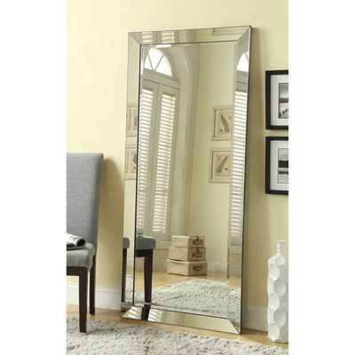 Coaster Furniture Beveled Floor Mirror - 30W x 70H in. - Hayneedle