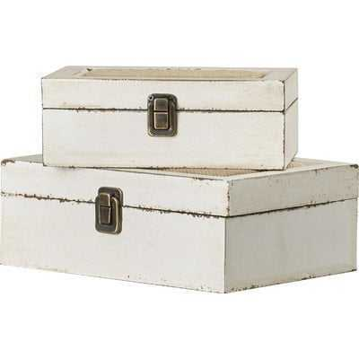 Kelia 2 Piece Decorative Box Set - Wayfair