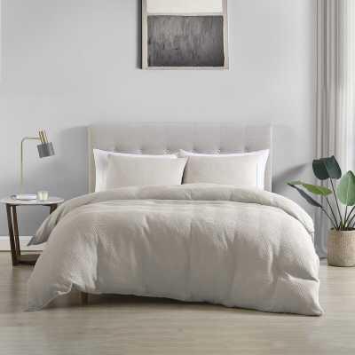 Ezren Cotton Reversible Duvet Cover Set - Wayfair