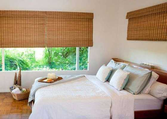 Budget Woven Wood Shade-TBDin by 60 in - Home Depot