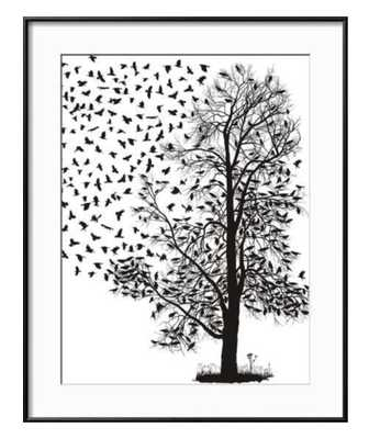 Crows Fly Away From The Tree - art.com
