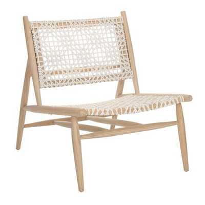 Amelia Side Chair, Off-White - AllModern