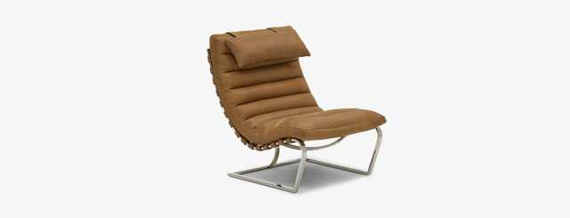Halston Leather Chair - Joybird