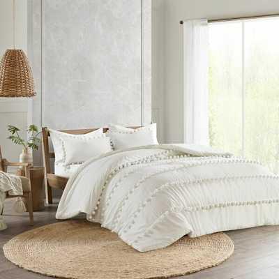 Obrian Pom Pom Comforter Set - Wayfair
