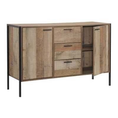 Union Rustic Maher 3 Drawer Accent Cabinet - Wayfair
