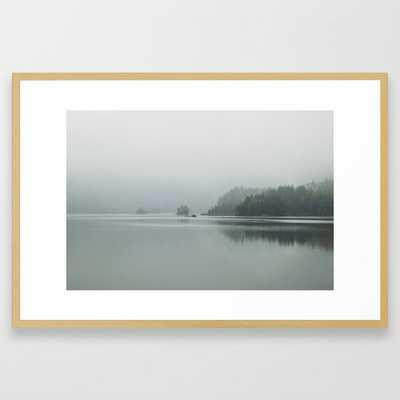 Fog - Landscape Photography Framed Art Print - Society6
