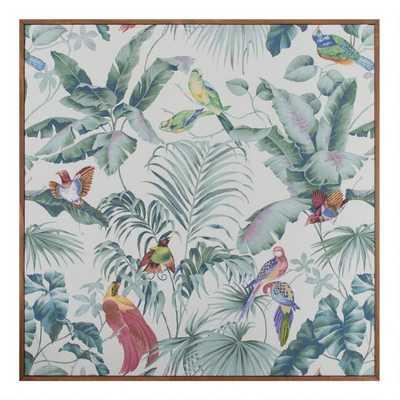 Jungle Canopy Neutral by Bill Jackson Framed Wall Art - World Market/Cost Plus