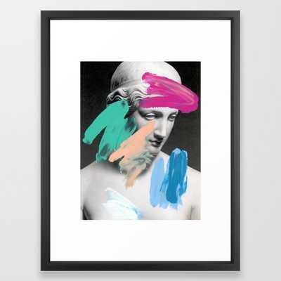 Composition 705 Framed Art Print - Society6