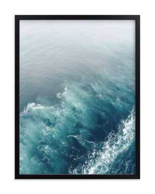 marbled wake-Ocean Blue - Minted