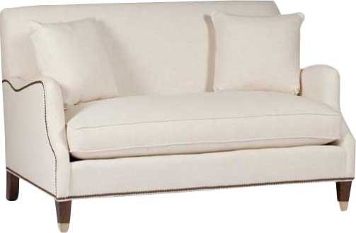 Lincoln Saddle Arm Loveseat - Wayfair