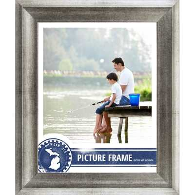 "1.5"" Wide Distressed Picture Frame / Poster Frame - 8 x10 - Wayfair"
