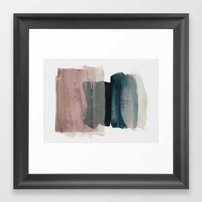 minimalism 1 Framed Art Print by Patternization - Society6