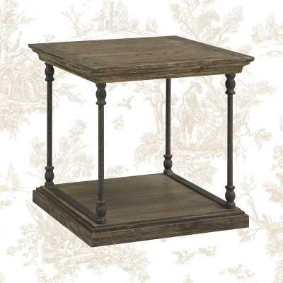 Boyd Floor Shelf End Table with Storage - Wayfair