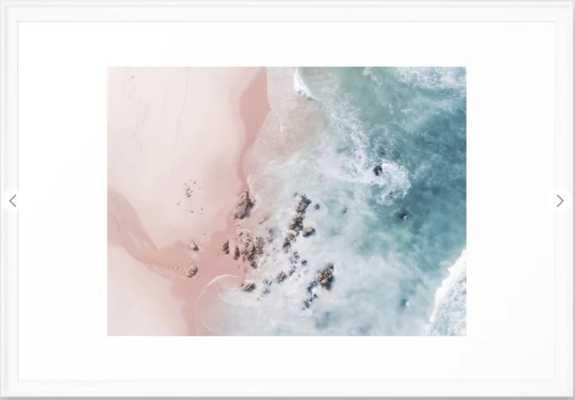 sea bliss Framed Art Print - Society6