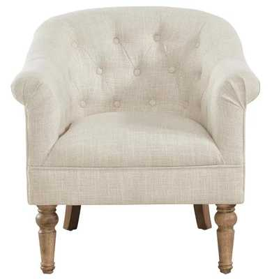 """Loredana Tufted Arm Chair"" - Wayfair"