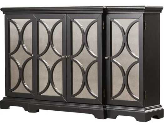 Achilles 4 Door Accent Cabinet - Wayfair