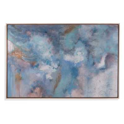 Bassett Mirror Company Blue Clouds Wall Art - Hayneedle