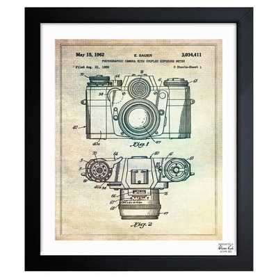 """""""Sauer Photographic Camera 962"""" - Wrapped Canvas Graphic Art Print on Canvas - Wayfair"""