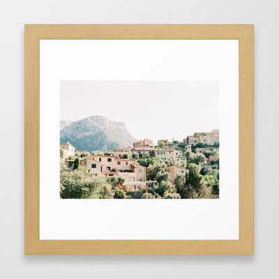 Deià - Mallorca - Travel photography Framed Art Print - Society6