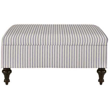 Tailored Storage Ottoman - Ballard Designs