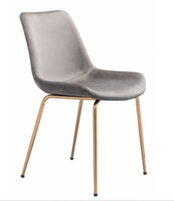 Tony Dining Chair Gray - Zuri Studios