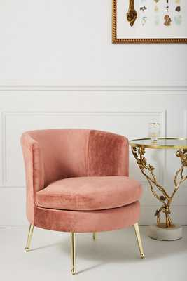 Cynthia Petite Accent Chair - Pink - Anthropologie