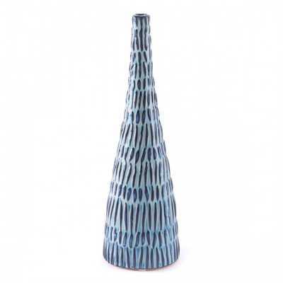 Coastal Md Bottle Blue & White - Zuri Studios