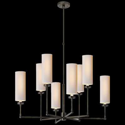 Ziyi Large Chandelier - Bronze - Circa Lighting